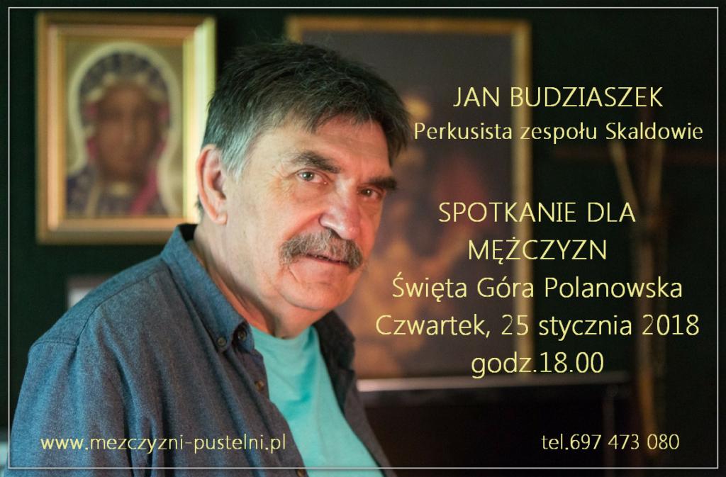 spotkanie z Janem Budziaszkiem